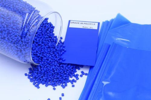 BLUE MASTERBATCH IM-PE6002