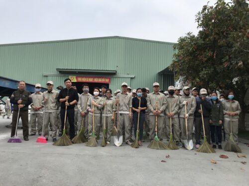 Tập huấn và triển khai 5S định kỳ nhà máy Đại Á