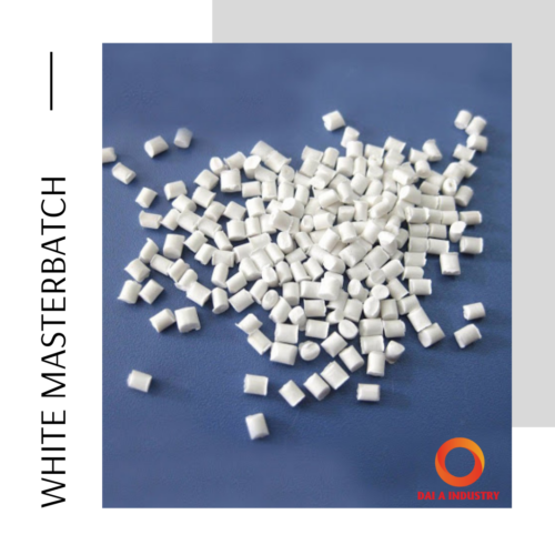 White masterbatch – The product has high applicability