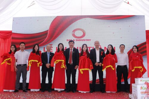 Dai A Industry 9th year anniversary and Grand opening of 2nd masterbatch factory!