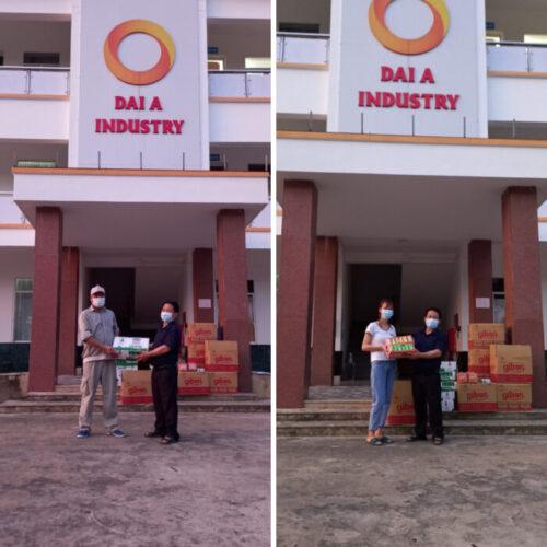 Công đoàn tỉnh Hòa Bình tặng quà công nhân viên Đại Á