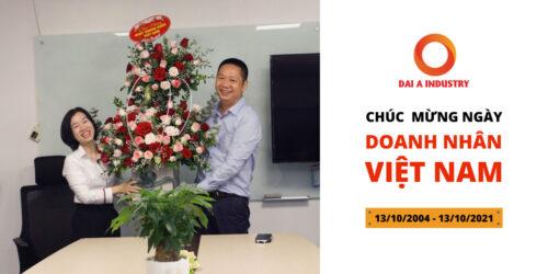 Đại Á tổ chức kỷ niệm Ngày doanh nhân Việt Nam 2021